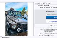 Gepflegte Mercedes G-Klasse für weniger als 22.000 Euro