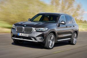 BMW X3/X4 Facelift (2021)