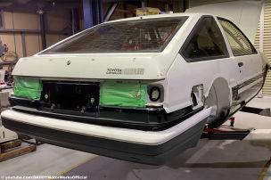 Corolla AE86 mit Power vom GR Yaris