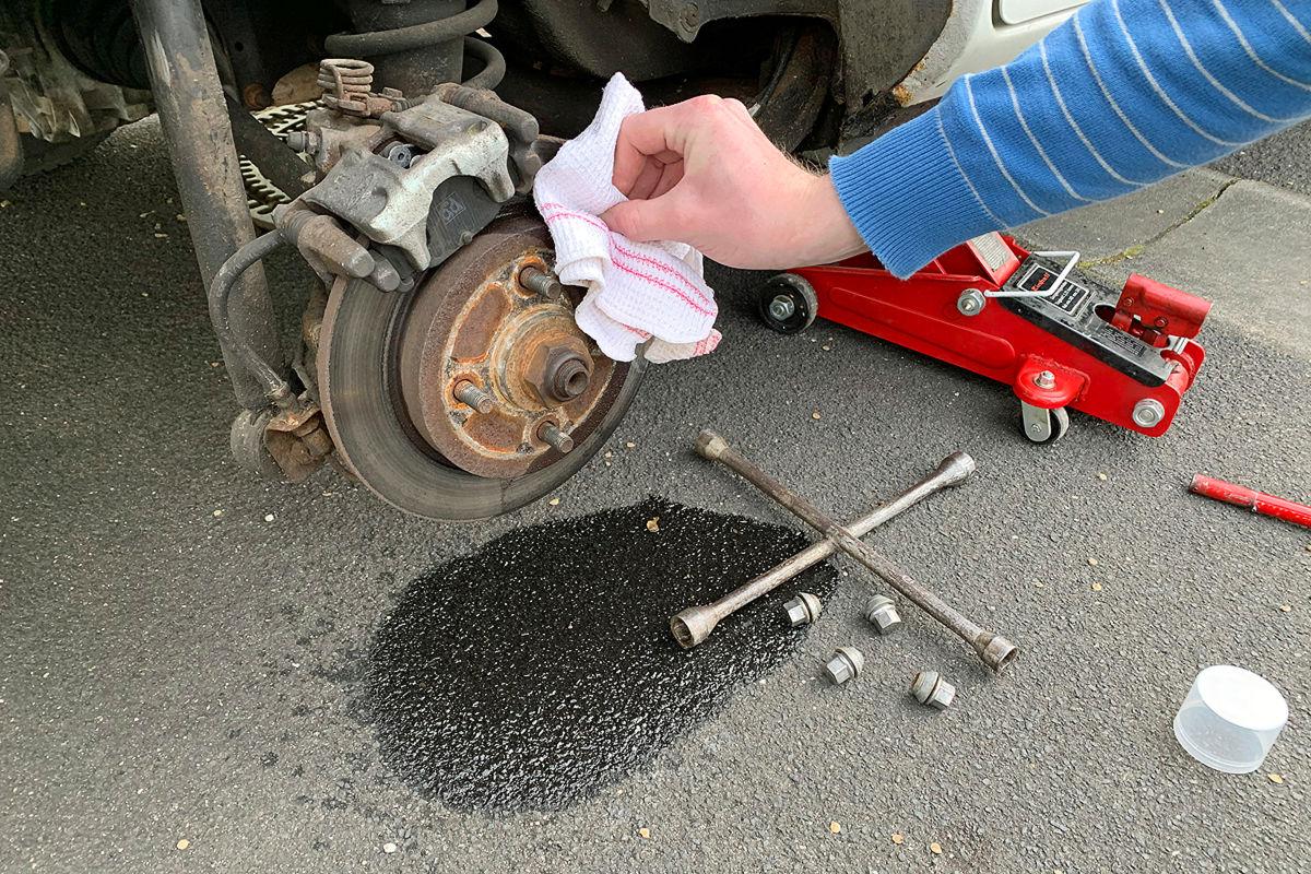 Bremsen reinigen