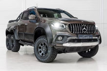 Carlex Design Mercedes-Benz X 350d 6 Wheeler