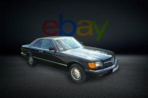 Mercedes 560 SEC (W 126)