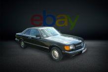 eBay Mercedes 560 W-126