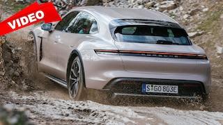 Offroad mit dem Porsche Taycan Cross Turismo