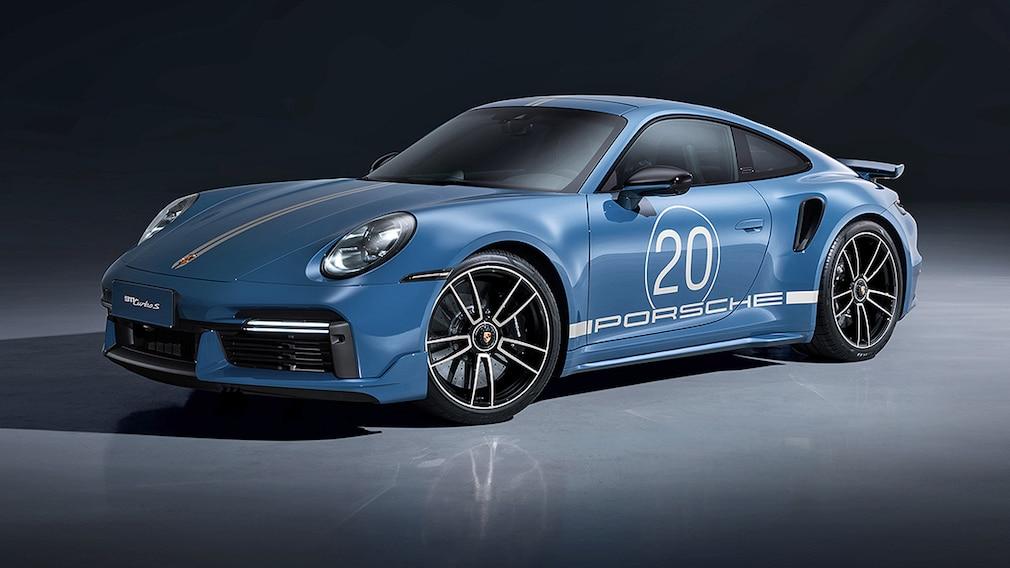 Porsche 911 Turbo S 20 Years Porsche China Edition