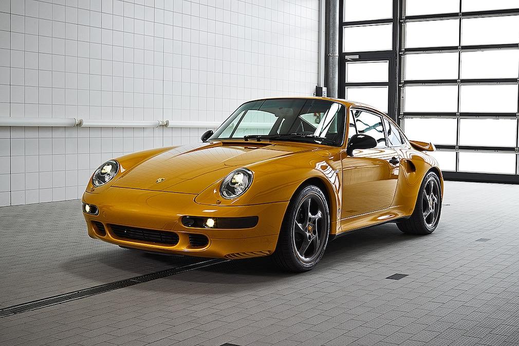 Porsche 911 993 Projekt Gold aus Originalteilen
