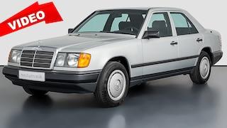 Mercedes W 124 Neuwagen mit nur 995 km