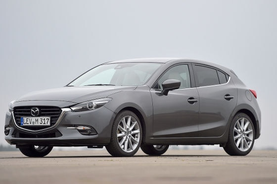 Mazda 3 Skyactiv-G 165