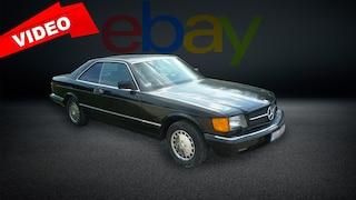 Mercedes 560 SEC von 1989 für 25.000 Euro mit H-Zulassung bei eBay!