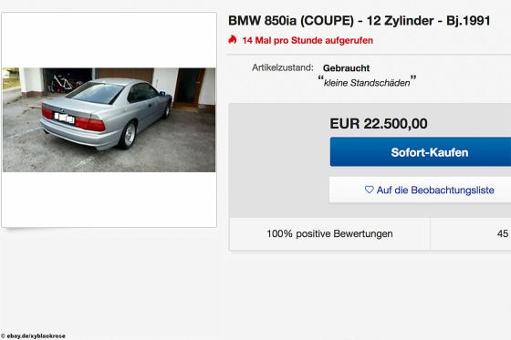 BMW 850ia