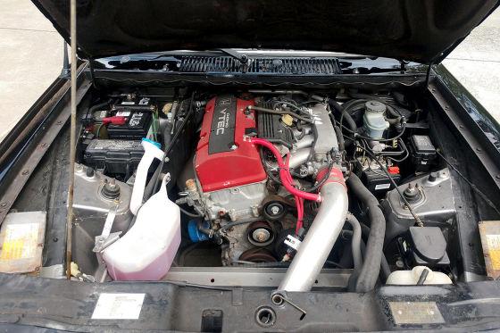 Vauxhall Chevette mit S2000-Motor