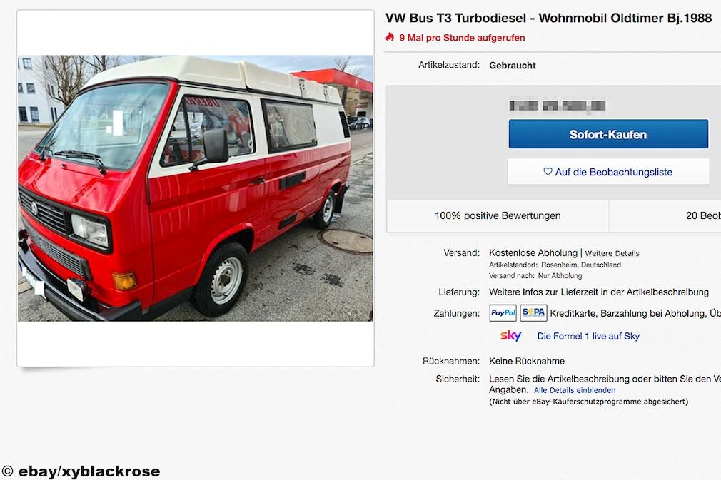 VW Bus T3 Turbodiesel