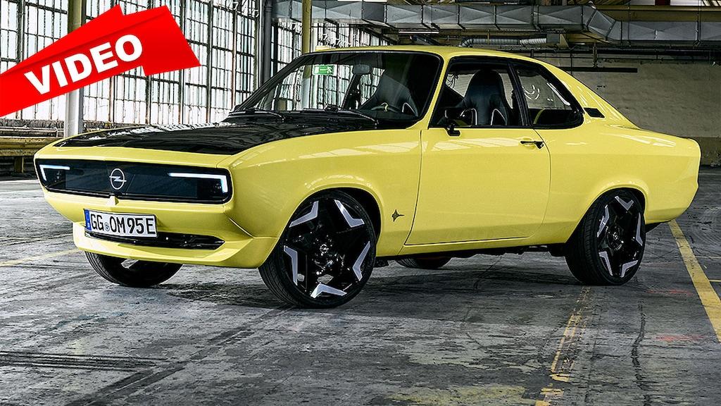 Opel-Klassiker wird zum Elektroauto