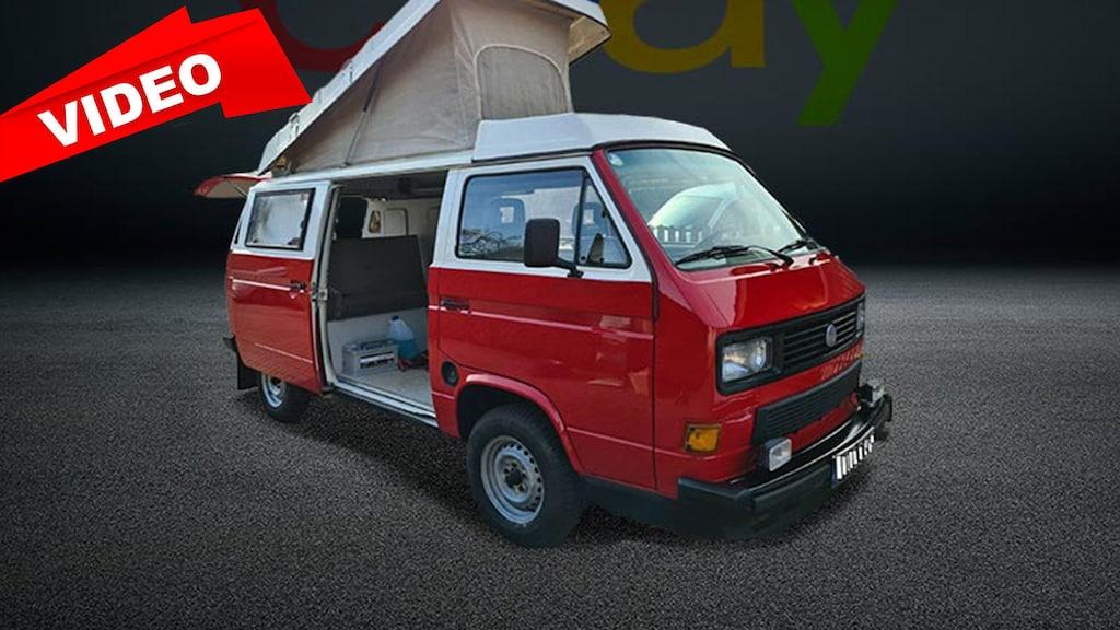 Gepflegtes VW T3-Wohnmobil zu verkaufen