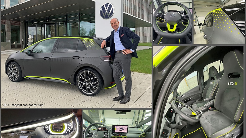 VW ID.X Concept