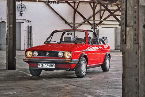 VW Golf I Cabrio