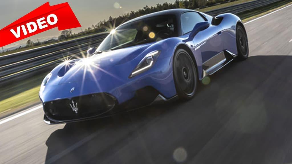 Erste Fahrt im Maserati MC 20