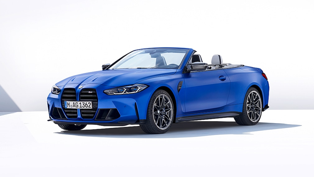 BMW M4 Cabrio   !! Sperrfrist 26. Mai 2021  00:01 Uhr !!