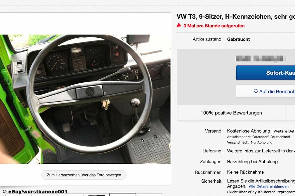 VW Bus T3  H-Kennzeichen