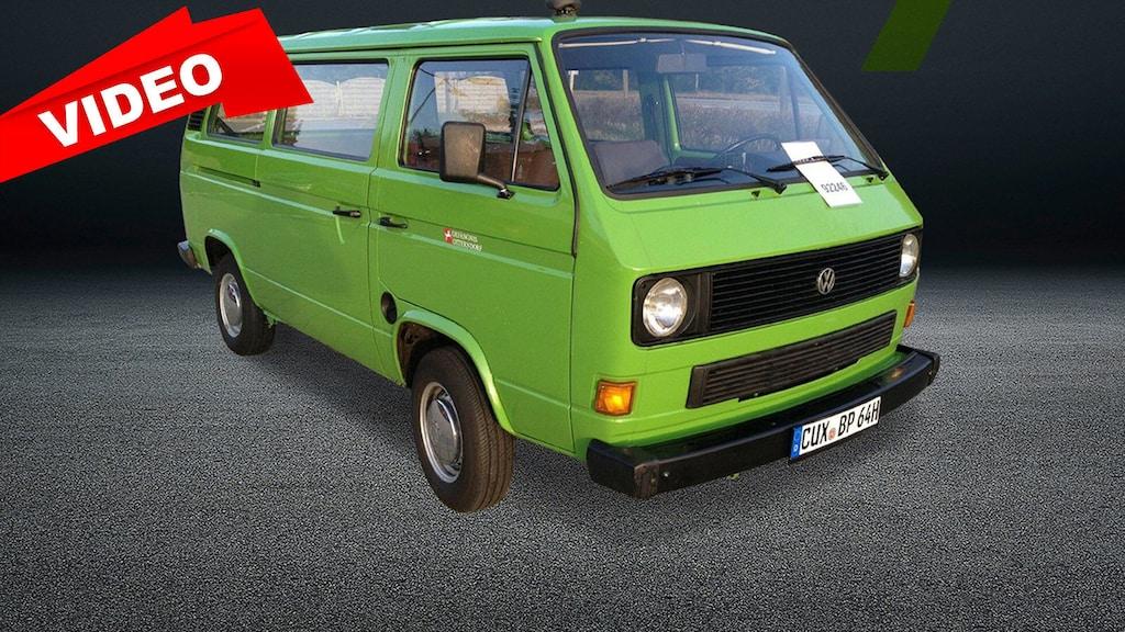 Originaler und scheinbar gepflegter T3-Bus zu verkaufen