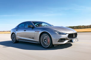 Maserati Ghibli Trofeo: Test