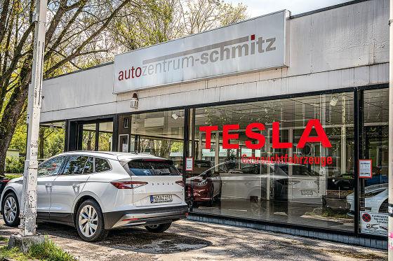 Umweltprämie Tesla