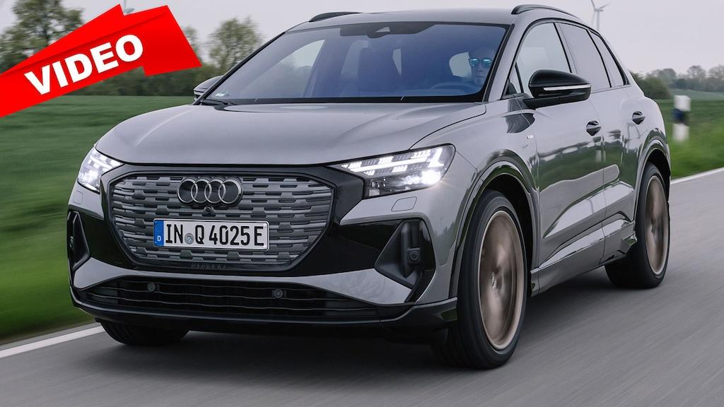 Erste Fahrt im neuen Audi Q4 e-tron