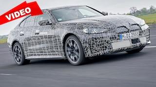 So fährt sich die erste Elektrolimousine von BMW