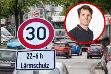 Tempo-30-Pl�ne f�r Gro�st�dte, na und?