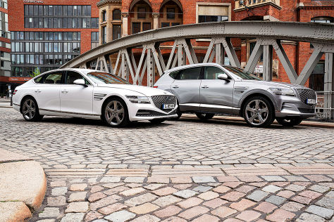 Genesis G80 und GV80: Test, SUV, Limousine, Motor, Preis, Hyundai - autobild.de