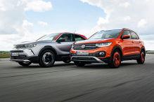 Opel Mokka fordert VW T-Cross heraus