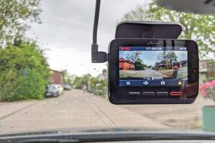 Premium-Dashcam mit vielen Extras