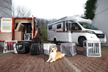 Mobile Transportbox -  4pets Eco 1 S     4pets Caree        AniOne Top Door S         AniOne Open Top            AniOne Traveller+ S       Hymer Schmidt Hundebox