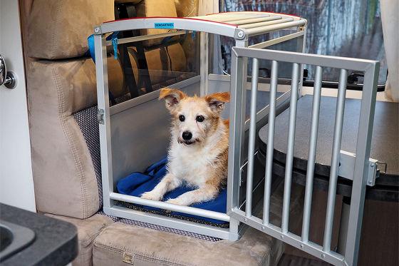 Mobile Transportbox - Hymer Schmidt Hundebox