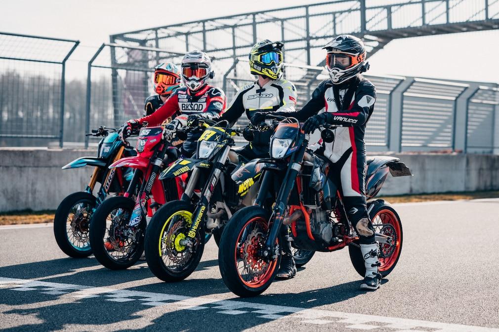 Reifen sind wichtiger Bestandteil der Fahrsicherheit bei Motorrädern