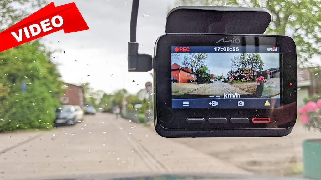 Neue Premium-Dashcam von Mio im Test