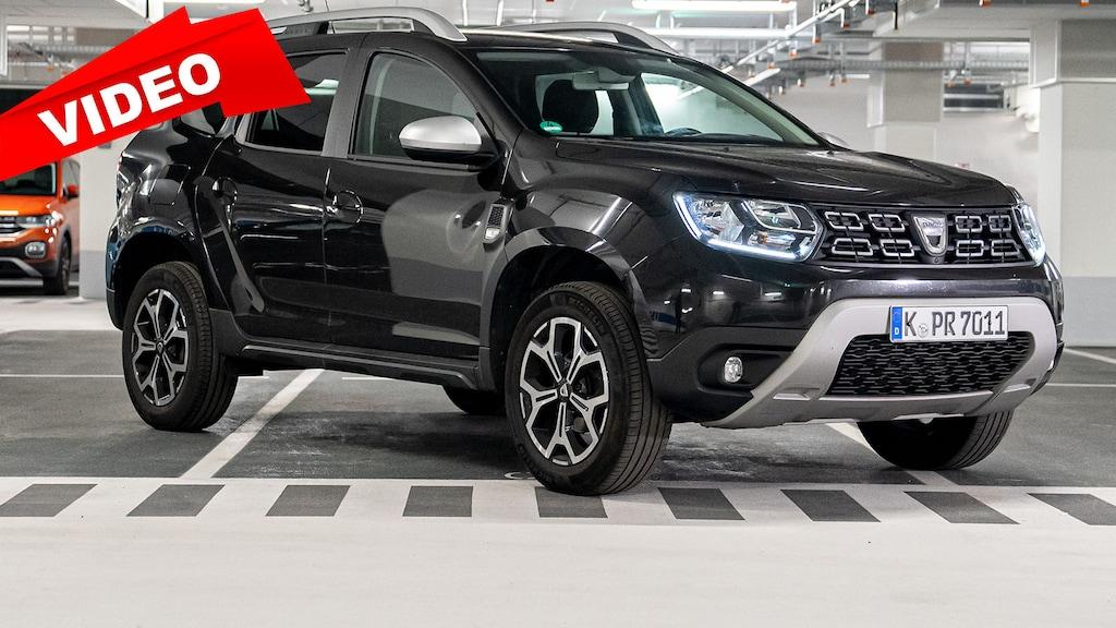 """Dacia Duster im AUTO BILD-""""Garagen-Check"""""""