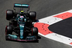 Vettel gleicht gegen Stroll aus