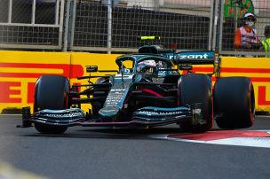 Vettel holt erstes Podium f�r Aston Martin