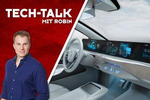 Mega-Display f�r den neuen VW Passat?