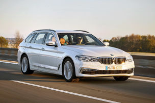 BMW 520d Touring: Leasing