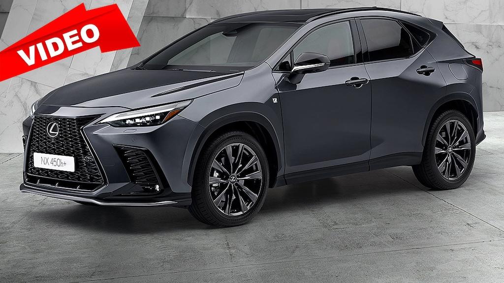 Erster Plug-in-Hybrid von Lexus