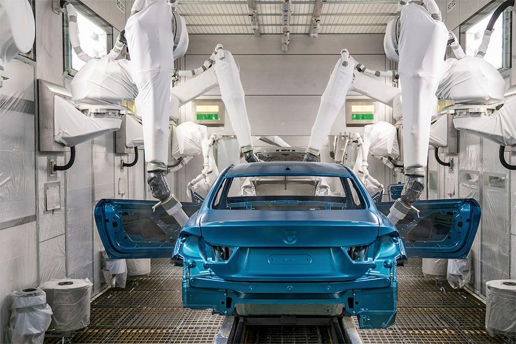 BMW-Lackieranlage