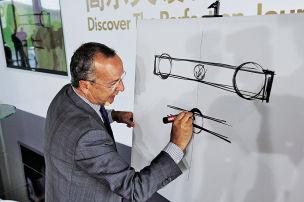 Italienischer Meister des Autodesigns