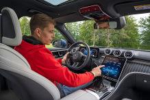 Mercedes C-Klasse MBUX: Der kleine Bruder des S-Klasse-Infotainments