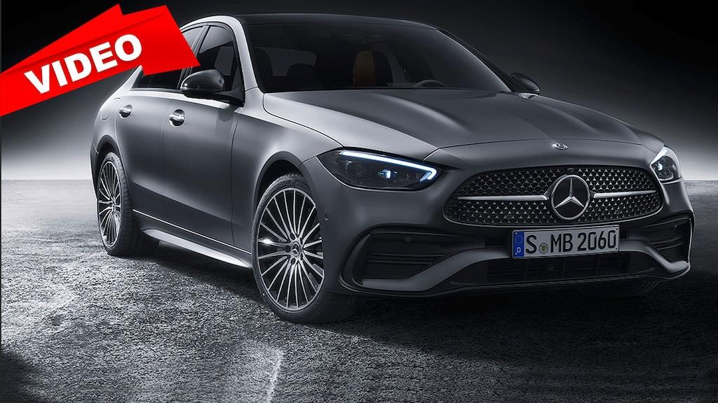 So stark hat sich die Mercedes C-Klasse in fünf Generationen verändert