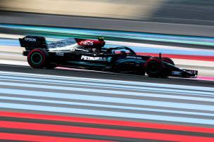 Formel 1: Teamduelle, Qualifying, Frankreich