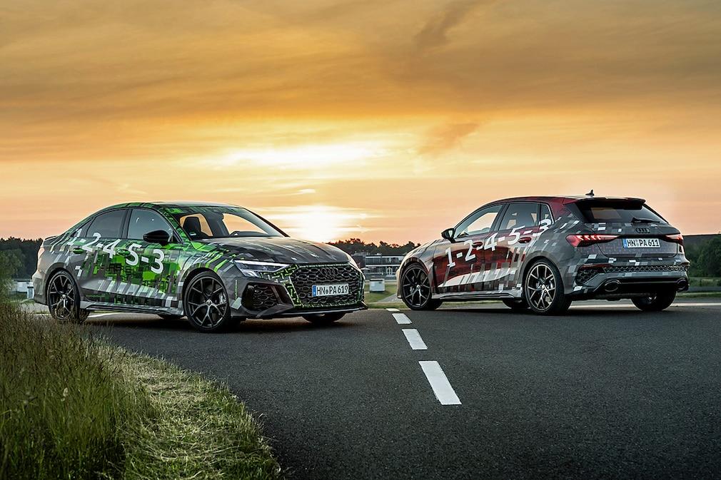 Audi RS3 Limousine  Audi RS3 Sportback