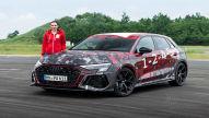 Audi RS 3 (2021): Erste Mitfahrt