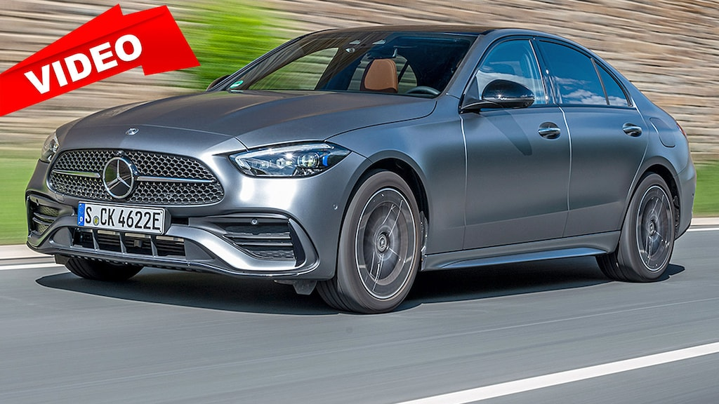 This is how the new Mercedes C-Class drives